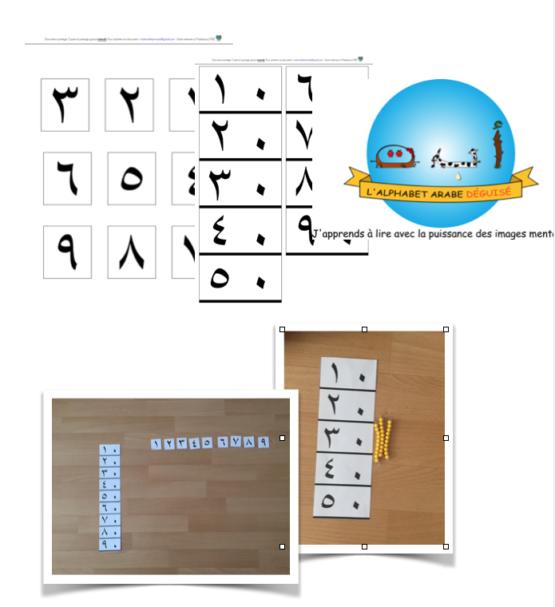 Table de Seguin 2 arabe montessori